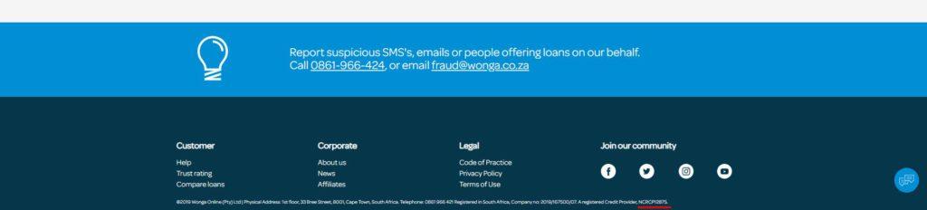 short term loans lender wonga